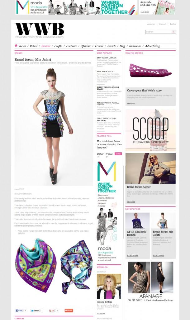 WWB Online - June 2012