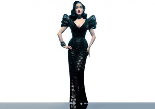 Francis Bitonti 3D Printed Dress